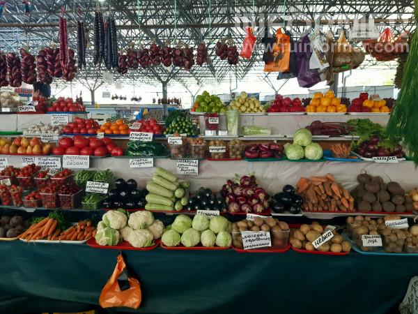 овощи на центральном рынке