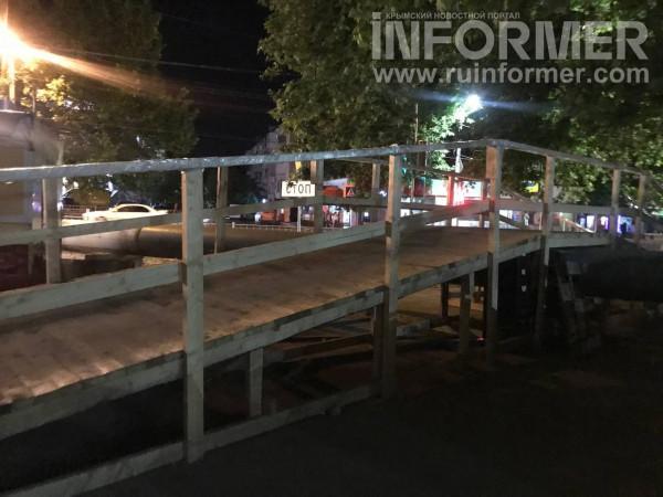 севастополь московский рынок деревянный мост