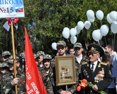 В Севастополь прибыли участники автопробега «Перекличка поколений 1945 – 2015 гг.» (фото)