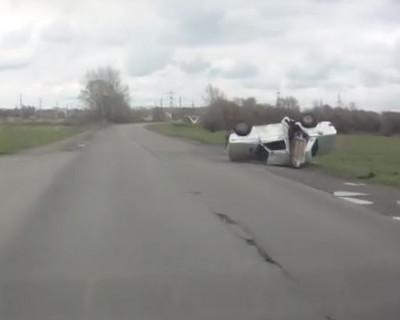 """Видео дня: Где-то под Харьковом. """"Ой, господи! Ой, ей-ой-ей-ей! Вова, останови! Ой!"""" (видео)"""