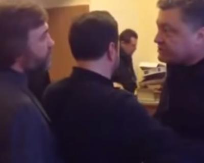 Видео дня: Порошенко на неформальной пьянке (реал видео)