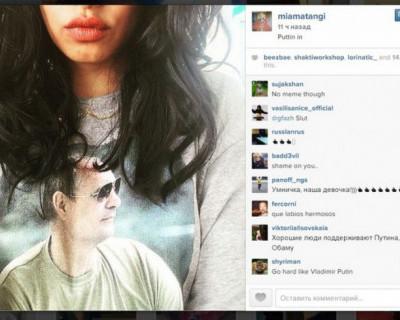 Британская певица M.I.A. неожиданно выразила теплые чувства к российскому президенту (фото)