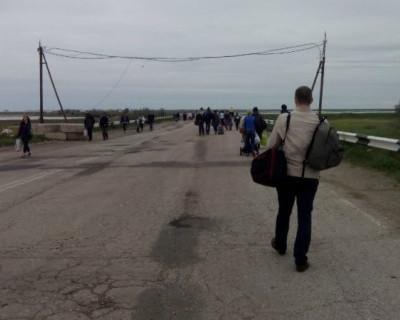 Как нынче из Киева в Крым добираются (фото)