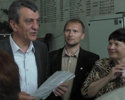 Общественность Севастополя просит утвердить кандидатуру Тюнина!