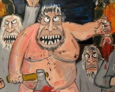 Правосеки отрубили ополченцу пальцы! И юморят по этому по поводу в Facebook (фото)