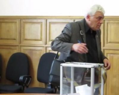 Присяга новых депутатов Законодательного Собрания Севастополя. 22 сентября 2014г.