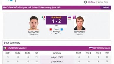 Севастопольский боксёр обеспечил себе бронзовые медали на Европейских играх в Баку
