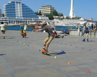Второй роллер-фестиваль в Севастополе (фото)