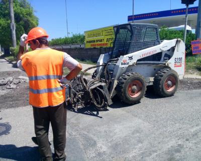 В Севастополе сегодня начался ремонт дорог! (фото)