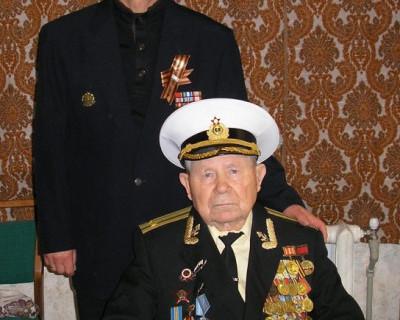 95 лет исполнилось севастопольскому подводнику Владимиру Морозову