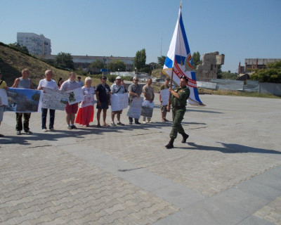 В Севастополе прошёл митинг! (фото)