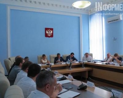 Сергей Меняйло пригрозил директорам Департаментов штрафами и увольнением