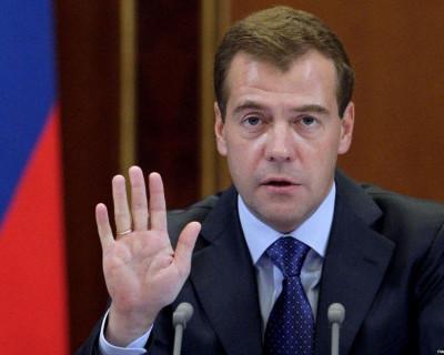 В Крым с Путиным едет и Медведев