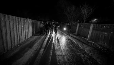 Сюрпризы темных улиц Севастополя. Самооборона. (фото)
