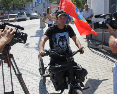 Севастопольский трайк отправляется в первое большое путешествие (видео, фото)