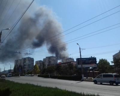 В Севастополе горят «Остряки»! (фото)