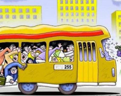 Экстрим в маршрутных такси Севастополя (фото)