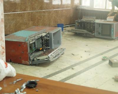 В Крыму взорвали три банкомата. Идет следствие