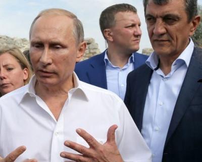 Владимир Путин продемонстрировал полное доверие Сергею Меняйло (фото)