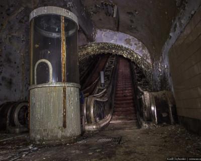 Севастопольское метро имени руфера Кирилла Цыбенко (уникальные фото)