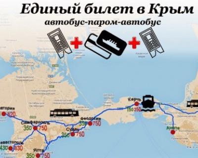 Россияне попросили продлить билетик в Крым