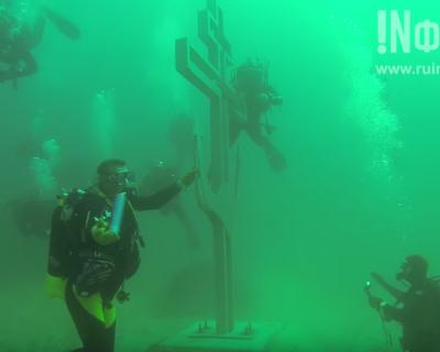 Эксклюзивный материал! В Севастополе появится первый в мире подводный храм (фото, подводное видео)