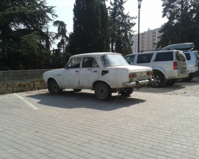 Автомобиль марки «Москвич» со следами крови обнаружен в Севастополе (фото)