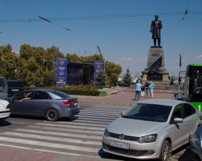 Парковка в Севастополе на пл. Нахимова будет платной!