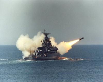 Ракетные стрельбы в Черном море