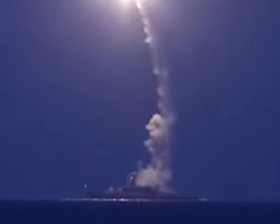 Как российский флот ударил по ИГИЛ в Сирии (реал видео)