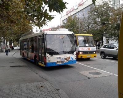 Севастопольские водители троллейбусов думают, что возят по городу дрова? (фото)
