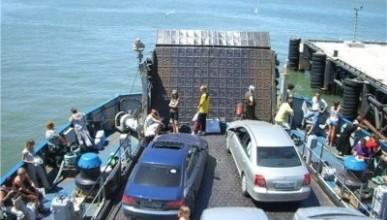 С 1 октября на паромной переправе через Керченский пролив стали действовать новые правили перевозки пассажиров