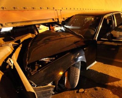 В Крыму в результате ДТП пострадало 3 взрослых и 2 детей