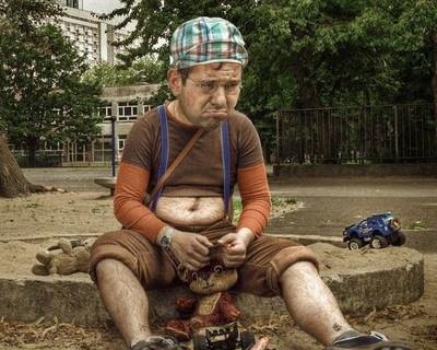 Моральная деградация. В Севастополе обворовали детскую песочницу (фото очевидца)