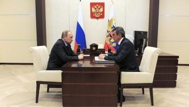 Президент России провёл рабочую встречу с губернатором Севастополя (фото, видео)