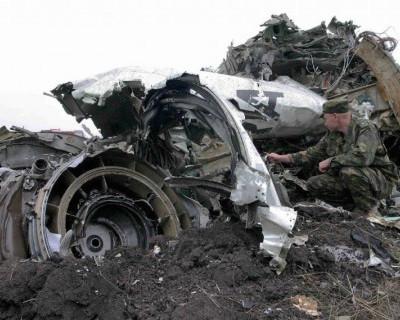 Из-под обломков российского самолета доносятся голоса выживших