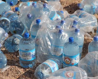 Залежи воды на пляже «Васили»