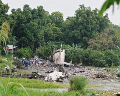 Что происходит? Крушение еще одного самолета с россиянами (фото, скриншоты)