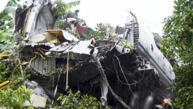 В интернете появилось видео момента падения Ан-12 в Южном Судане (ВИДЕО)