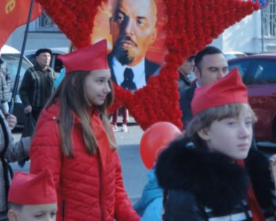 Коммунисты Севастополя отметили 7 ноября – день Великой Октябрьской социалистической революции (фото, видео)