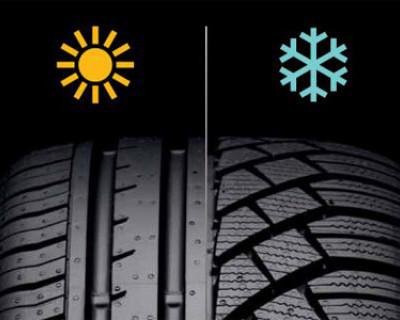 Правительство РФ поддержало введение штрафа в 2000 руб. за использование летних шин зимой и зимних шипованных покрышек — летом