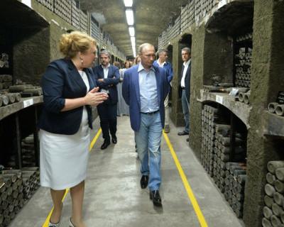 Какое вино дегустировал Президент России, когда был в Крыму? (видео)