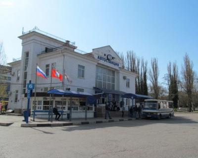 В камерах хранения автовокзала Севастополя наблюдается бардак