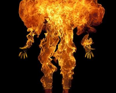 Севастопольцы гибнут в огне!