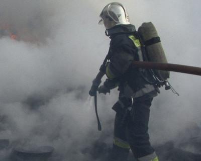 Здание Минобороны горело в центре Москвы. Задымление на два этажа