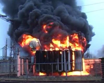 В Севастополе из-за хаотичного набора нагрузки сгорела трансформаторная подстанция