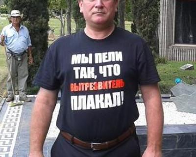 Поющий дальнобойщик записал хит про блокаду Крыма (видео)