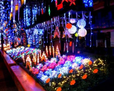 В Севастополе открывается новогодняя ярмарка