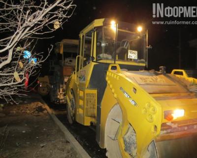 Ночной ИНФОРМЕР узнал, когда в Севастополе завершат ремонт 6-й Бастионной (фото, видео)