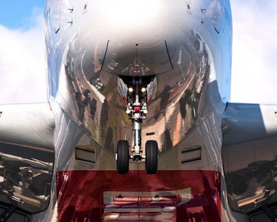 Российский самолет под угрозой взрыва? (фото)